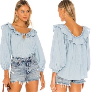 Free People Lily Of The Valley Blouse